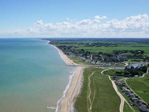 La plage de Quinéville
